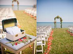 great idea for wedding programs