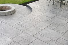 Patio Designs on a Budget | Stamped Concrete Patterns 2014