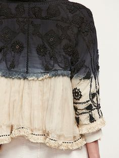 Free People Top Down Embellished Jacket at Free People Clothing Boutique