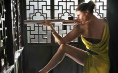Rebecca Ferguson as Ilsa Faust in Mission Impossible: Rogue Nation