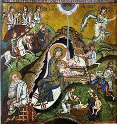 Icona della Natività di Gesù | Cappella Palatina | Palermo | Sicilia