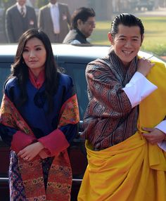 Queen Jetsun Pema With Her Son Crown Prince Jigme Namgyel - The most eco friendly country in the world just planted 108000 trees to celebrate a new royal arrival