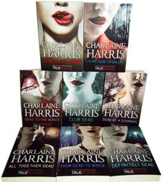 Sookie Stackhouse 8 boxed set
