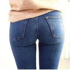 Comfy denim days in Higher Crystal jeans. Get your pair with link in profile. #bikbok #bikboklife