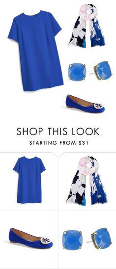 """on a sunndayy"" by kcwesterbeek on Polyvore featuring MANGO, Diane Von Furstenberg, Tory Burch and Kate Spade"