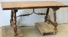 Antique Tuscan Walnut Table | Antique Dining Tables | Inessa Stewart's Antiques