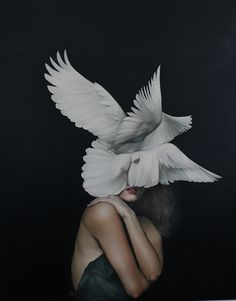 For the Wings of a Dove by Amy Judd Art, via Flickr