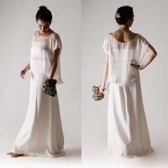 Wedding dress separates Wedding dress White wedding by larimeloom