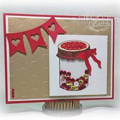 Happy Valentine's Day. This card was made by DT Jennifer. #valentine #iloveyou #truelove #rubberstamp #ctmh #stampinup #jessicalynnoriginal #valentinesday #weddingplanning #masonjarwedding #masonjardecor #diybride #diywedding #diy #diybride #weddingrubberstamp