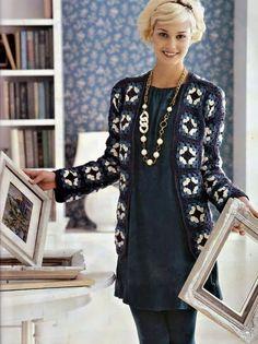 Veronica crochet y tricot...: chalecos