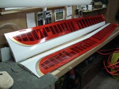 White, Gold and Trans. Red on Aquila Wing Rc Glider, Winter Project, Model Airplanes, Radio Control, Gliders, Aircraft, Let It Be, Aviation, White Gold