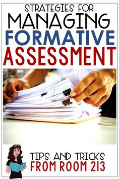 How do you manage formative assessment in middle and high school English without getting overwhelmed with paper and grading? Room 213 has some ideas for you!
