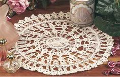 """Free pattern for """"Hairpin Lace Doily""""!"""
