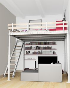 Now You Can Add A Micro-Loft To Your Home With A DIY Kit