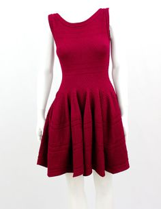 815cda5fce4 Alaia Inspired Red Wine Flare dress size M  Unbranded Alaia