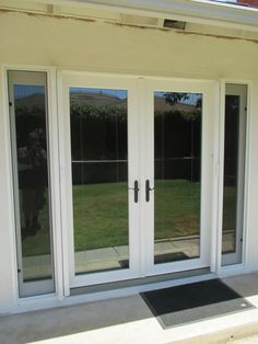 Double, In Swing StowAway Retractable Screen Door System In Brea, CA.  Summer Never Ends In Southern California! Thatu0027s Why Classicu0027s Retractable  Su2026 ...