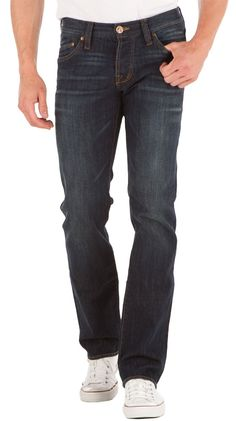Isaac Relaxed Straight Jeans