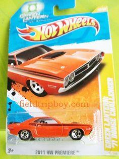 Hot Wheels Collection: '71Green Lantern Dodge Challenger