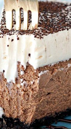 Baileys Chocolate Cheesecake ^
