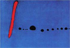 Bleu II - Joan Miró