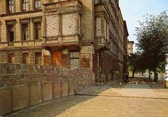 Berlin   Geteilte Stadt. Berliner Mauer, 1962. Ostseite der Bernauerstrasse