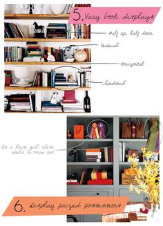 Bookcase Styling Tips  I need all the help I can get