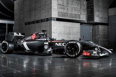 C33 de Sauber para F1 del mexicano Esteban Gutiérrez.