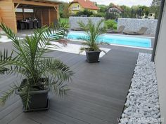 Modern Pool And Spa, Moderne Pools, Garden Design, House Design, Indoor Outdoor, Outdoor Decor, House Entrance, Diy Home Crafts, Terrazzo