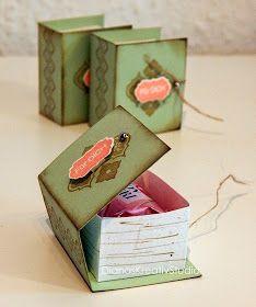 DianasKreativStudio --- Schönes aus Papier: Eine süße Kleinigkeit für einen Bücherfreund