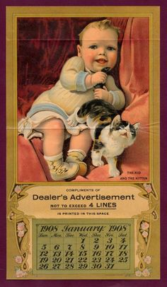 1908 Wrigley's Calendar OFFER | eBay