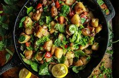 Vegan Breakfast Skillet - Heather Christo