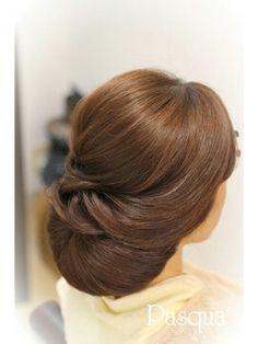 Oscar Hairstyles, Bride Hairstyles, Cool Haircuts For Girls, Glamour Hair, Hair Upstyles, Ballroom Hair, Hair Arrange, Japanese Hairstyle, Bridesmaid Hair