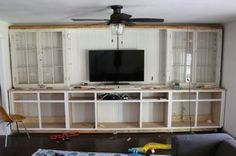 DIY Built Ins Series - How to Build Your Own Base Cabinets on dreambookdesign.com
