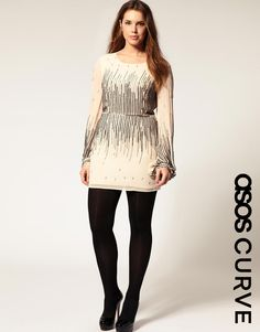 Ashley Stewart Liquid Gold Knot Waist Dress Plus Size #plussize ...
