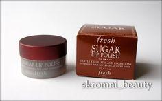 Неделя Сладкоежки: Сахарный скраб для губ Fresh - Тайный мир бьютишопоголика в декрете