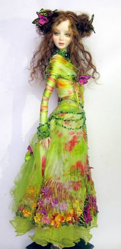 Exquisite doll by artist Milan Shupe-Dubrova                                                                                                                                                      More