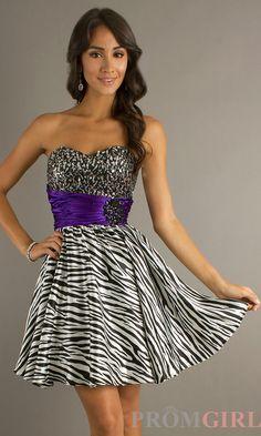 zebra dresses - Google Search Animal Print Short Dresses d9bb4d7c4