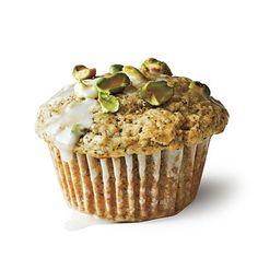 Pistachio-Chai Muffins