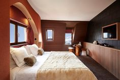 New hotel in Avoriaz - Hotel des Dromonts - From the Poolside