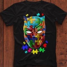 Black panther Autism shirt, hoodie and sweater All Blacks Shirt, Dora Milaje, Really Good Movies, Black Panther 2018, Letitia Wright, Young T, African Nations, Marvel Films, Autism