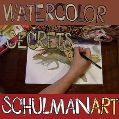 Discover how to make watercolor painting easy at The Inspiration Place! #watercolorarts