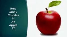 Healthwise - Diet Calories, How Many Calories in an Apple? Calorie Intake & Healthy Weight Loss by EnViata http://youtu.be/3p5Jn0jljYs