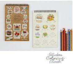 Sticker coloring book - 232 pcs sticker