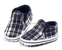Baby Boy Navy Plaid Crib Shoes Walking Sneakers Size Newborn to 18 Months Cute Boy Outfits, Cute Baby Clothes, Baby Boy Shoes, Crib Shoes, Baby Polo, Baby Baby, Cute Boys, Cute Babies, Baby Feet