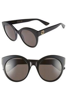 07b9625483 GUCCI 52mm Oversize Cat Eye Sunglasses.  gucci   Gucci Cat Eye Sunglasses
