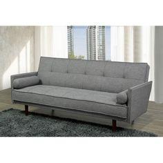Modèle IF-8070 Click clack Sofa-Lit (gris)