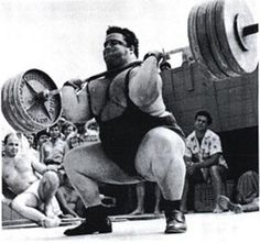 Paul Anderson, the strongest man who ever lived.