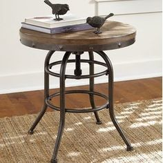 6 Skillful Cool Tricks: Living Room Remodel With Fireplace Painted Bricks small living room remodel closet doors.Living Room Remodel With Fireplace Painted Bricks small living room remodel floating shelves.Living Room Remodel With Fireplace French Doors. Rustic Table, Decor, Furniture, Farmhouse End Tables, Table, Ashley Furniture, Accent Table, Family Room Design, End Tables