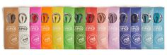 Atipico Coloured Dress Shoe Laces on Packaging of the World - Creative Package Design Gallery
