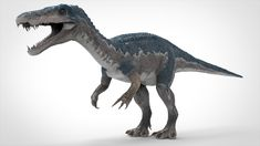 Buy Baryonyx Model by MarchStudio on Carnotaurus A model is very close to reality. This model was created in full detail and high quality was used FEAT. Dinosaur Sketch, Dinosaur Art, Jurassic World Dinosaurs, Jurassic Park World, J Park, Space Artwork, Spinosaurus, Attack On Titan Art, Tyrannosaurus